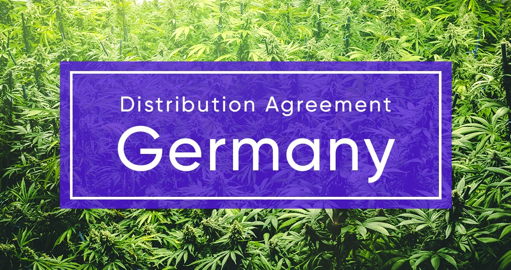 Cannassure Therapeutics Signs a Distribution Agreement for the Sale of Medical Cannabis in Germany